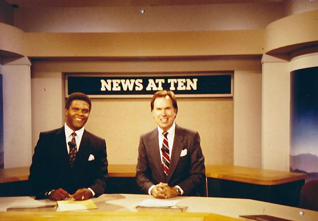buckmaster_news_at_10.1987-Buckmaster-with-Co-Host-Jan-Hutchins-at-KICU-TV-San-Jose